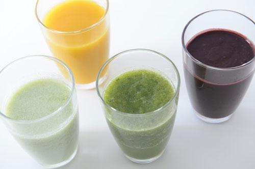 すっきりフルーツ青汁は色んな割り方のバリエーションがある